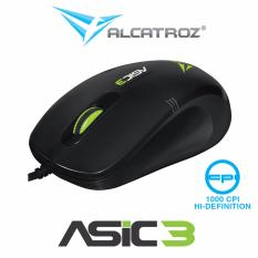 High resolution 1000CPI optical mouse alcatroz Asic 3