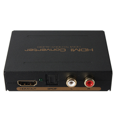 Cheapest High Speed Hdmi To Hdmi And Optical Spdif Rca L R Audio Converter Rate 6 75Gbps
