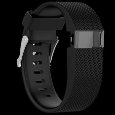 High Tech Large Size Replacement Silicone Soft Strap Wristband For Fitbit Charge Hr Intl Oem Cheap On China