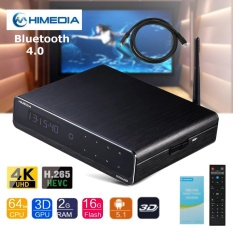 Himedia Q10 Pro Android Uhd Media Player Quad Core 4K Tv Box Hevc H 265 With Remote Intl Best Price