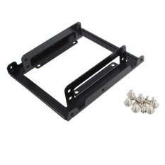 HKS 2.5 Inch SSD Hard Drive Bracket To 3.5 Inch Hard Drive Bays Black(Export)