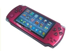 Hot Classic 8GB 4.3-Inch TFT Screen Mp4 MP5 Player Game Player Supports Psp Game Camera Video E-book Music (Red)