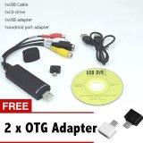 Sale Hot Sale Easycap Usb 2 Easy Cap Video Tv Dvd Vhs Dvr Capture Adapter Usb Video Capture Vedio Capture Device Intl Lw Online