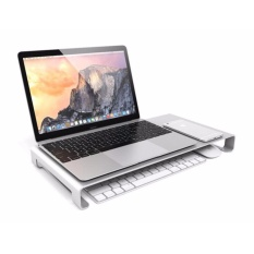 Cheapest Hot Selling Aluminum Monitor Stand For Macbook Best Quality In Holder For Laptop Computer Intl