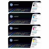 Recent Hp 201A Original Combo Value Pack Black Cyan Magenta Yellow Cf400A Cf401A Cf402A Cf403A Value Pack For For Printer Hp Laser Pro M252 Mfp M277