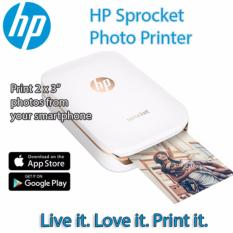 Hp Sprocket Photo Printer White With Sprocket App In Stock