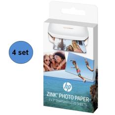 Low Cost Hp Sprocket Zink Sticky Backed 2 X 3 Photo Paper 4 Sets 80 Sheets