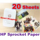 Price Comparison For Hp Sprocket Zink® Sticky Backed 2 X3 Photo Paper 20 Sheets