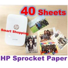 Buy Hp Sprocket Zink® Sticky Backed 2 X3 Photo Paper 40 Sheets On Singapore