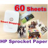 Buy Hp Sprocket Zink® Sticky Backed 2 X3 Photo Paper 60 Sheets Cheap On Singapore