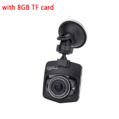 Price Hp320 8Gb Tf Card 1080P Car Dvr Gt300 Novatek96220 3 0Mp Cmos Dash Camera 120 2 4 Inch G Sensor Motion Detection Video Recorder Dashcam Black Intl Online China