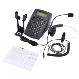 Buy Ht500 Headset Telephone Desk Phone Headphones Headset Hands Free Call Center Noise Cancellation Monaural With Backlight Intl Oem Cheap