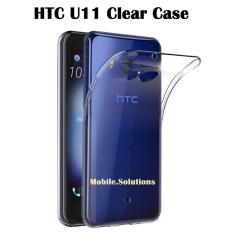 Htc U11 Clear/transparent Tpu Case (anti Water Marks).