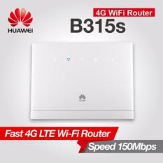 Best Reviews Of Huawei B315S 22 Lte Cpe Sim Card Router Mobile Wifi Router Mifi Wireless Gateway White