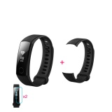 Purchase Huawei Honor Smart Bracelet 3 Black 2 Screen Stickers 1 Replace Band Intl Online