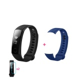 How To Buy Huawei Honor Smart Bracelet 3 Blue 2 Screen Stickers 1 Replace Band Intl