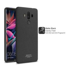Retail Huawei Mate 10 Pro Imak Hard Matte Black Cowboy Series Case With Free Screen Protector Ring Holder In Pack