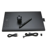 Huion Graphic Drawing Tablet Micro Usb New 1060Plus With Built In 8G Memory Card 12 Express Keys Digital Painting Rechargeable Pen Intl Best Buy