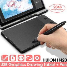Buy Huion H420 Pro Pad Graphics Drawing Writing Usb Art Tablet Board Mat Digital Pen Intl Not Specified Online