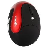 Price Hxsj X10 2400Dpi Wireless Gaming Ergonomic Design Optical Vertical Mouse Intl China