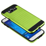 Lowest Price Hybrid Armor Shockproof Case Cover For Samsung Galaxy A8 Green