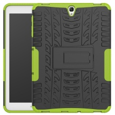 Hybrid Rugged Heavy Duty Armor Hard Back Cover Case With Kickstand For Samsung Galaxy Tab S3 9 7 Inch 2017 Sm T820 T825 Intl For Sale
