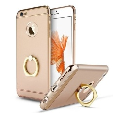 Best Buy I Tech 3 In 1 Ultra Slim Metal Hybrid Anti Skidding Hard Back Case Cover With Ring Kickstand For Applefor Iphone 6 Plus 6S Plus Color C1 Intl