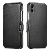 Deals For Icarer For Iphone8 Case Luxury Genuine Leather Shockproof Case For Apple Iphone 8 Full Edge Closed Flip Cover Intl