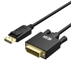 New Iczi Displayport To Dvi Cable 6Ft 1080P Displayport Display Port Dp To Dvi Cable For Desktops Laptops To Connect To Dvi Displays Intl