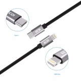 Retail Price Iczi Usb C 3 1 Male To Lighting Charging Cable Sync Data Cable For Iphone 6 7 6S 7 Plus Ipad New Macbook Chromebook Pixel Intl