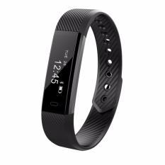 Buy Id115 Bluetooth 4 Android Smart Bracelet Pedometer Fitness Tracker Step Counter Smart Band Sleep Monitor Sport Wristband Intl Oem Original