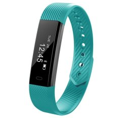 Best Reviews Of Id115 Bluetooth Android Smart Bracelet Pedometer Fitness Tracker Step Counter Smart Band Sleep Monitor Sport Wristband For Phone Intl
