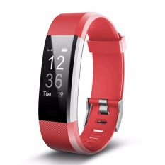 Shop For Id115Plus Bluetooth Smart Band Heart Rate Monitor Sport Fitness Tracker For Iphone Android Smartphone Intl