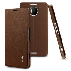 Price Comparisons For Imak Count Leather Flip Case For Microsoft Lumia 950Xl Brown