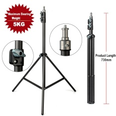 For Sale Import Eachshot 2M Light Stand 78 7In Tripod With 1 4 Scr*w Head Maximum Bearing Weight 5Kg For Photo Studio Softbox Video Flash Umbrellas Reflector Lighting Intl