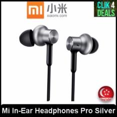 Buy Imported Original Xiaomi Mi In Ear Headphones Pro Hd Silver Online Singapore