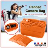Insert Padded Camera Bag Dslr Inner Folding Divider Partition Protect Case Intl Best Price