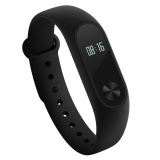 International Edition Xiaomi Mi Band 2 Wristband Sports Bracelet 2 Fitness Lightweight Ip67 Smart Wireless Bluetooth 4 Healthy Wearable Oled Time Steps Display Heart Rate Monitor Touch Operation For Android 4 4 Ios 7 With Bluetooth 4 Intl Free Shipping