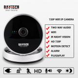 Price Ip Wifi Camera Cctv Home Security Camera Wirelee Baby Monitor 720P Hd Ir Cut Infrared Night Vision Daytech