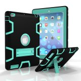 Price Comparisons Ipad 4 Case Ipad4 3 2 Case Cover Shock Absorption High Impact Resistant Hybrid Dual Layer Armor Defender Full Body Protective Case Black Mint Green Export