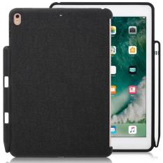 Ipad Pro 10 5 Inch Black Case With Pen Holder Companion Cover Perfect Match For Apple Smart Keyboard And Cover Lowest Price