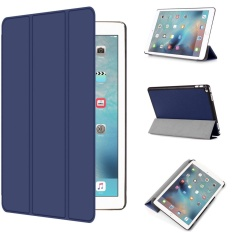 Coupon For Ipad Pro 9 7 Case Ultra Slim Lightweight Pu Leather Folio Case Stand Cover With Auto Wake Sleep Future For Apple Ipad Pro 9 7 Inch 2016 Release Tablet Dark Blue Intl