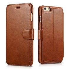 Discount For Iphone 6 6S Case Classic Wallet Series Magnetic Closure Folio Flip Cover Protective Pu Leather Case Built In Wallet Case 3 Card Holder 1 Cash Slot With Stand For Apple Iphone 6 6S 4 7 Inch Brown Intl Neutral China