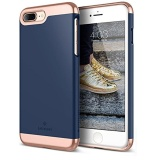 Iphone 7 Plus Case Caseology Savoy Series Slim Two Piece Slider Navy Blue Chrome Rose Gold For Apple Iphone 7 Plus 2016 Intl Caseology Cheap On South Korea