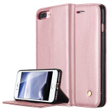 Buy Iphone 7 Plus Case Slim Folio Flip Pu Leather Stand Cover Wallet Case With Card Slots Magnetic Closure For Apple Iphone 7 Plus Rose Gold