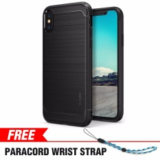 Iphone X Case Ringke Onyx Fine Brushed Metal Design Anti Slip Tpu Drop Protection Shock Absorption Technology For Apple Iphone X Black Intl Discount Code