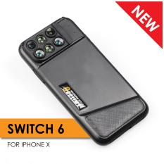 How To Get Iphone X Ztylus Switch 6 6 In 1 Lens Wide Angle Macro Super Macro Telephoto Fisheye
