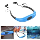 Compare Price Ipx8 Waterproof 8Gb Underwater Sport Waterproof Mp3 Player Swimming Earphones Music Player Neckband Stereo Earphone Audio Headset With Fm For Diving Swimming On China