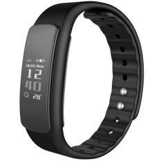 iwownfit I6HR TPU + TPE Bluetooth v4.0 IP67 Smart Wristband - Black