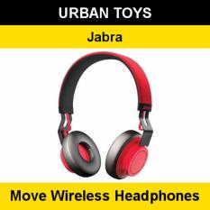 Sale Jabra Move Wireless Headphones 2 Years Warranty By Jabra Singapore Ultra Light Comfortable Cayenne Jabra Original